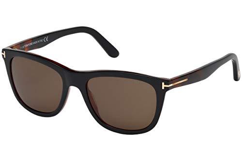 Tom Ford FT0500 05J Black Dark Havana Andrew Square Sunglasses Lens Category 3 (Tom Ford-andrew)