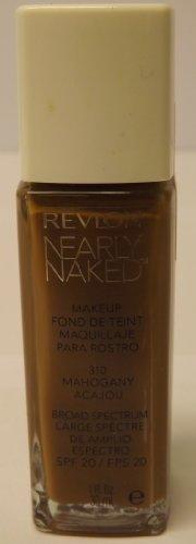 Revlon Nearly Naked Foundation (Mahogany)