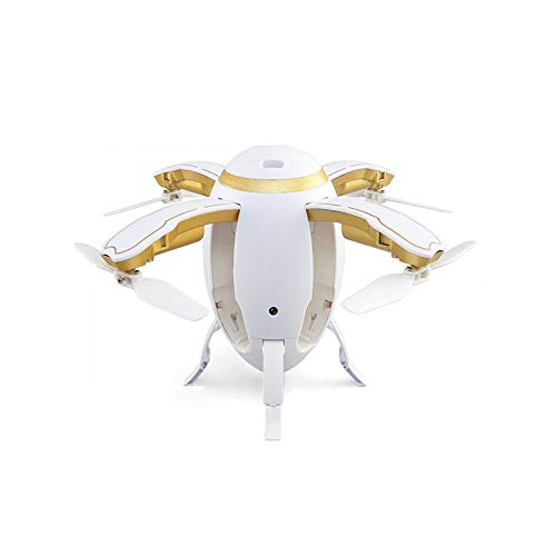 REDWALL Remote Control Rugby Drone, 2019 2.4G WIFI FPV Quadcopter with 720P HD Camera Folded Egg-Shaped Drone Rugby Wifi…