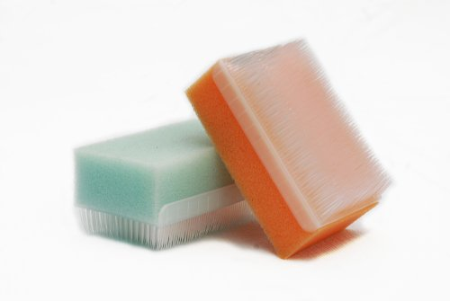 Scalp Scrubbie 3-pk, Sterile Sponge Scrub Bristle Brush