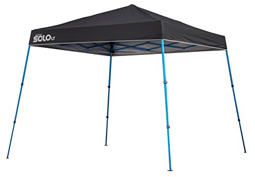 Quik Shade Solo LT 90 11'x11' Instant Canopy - Charcoal/Blue