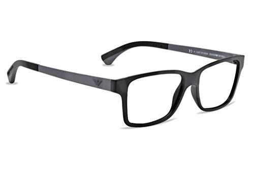 885ddc94bb8 Emporio Armani EA 3018 (5042 Matte Black) Eyeglasses - Import It All