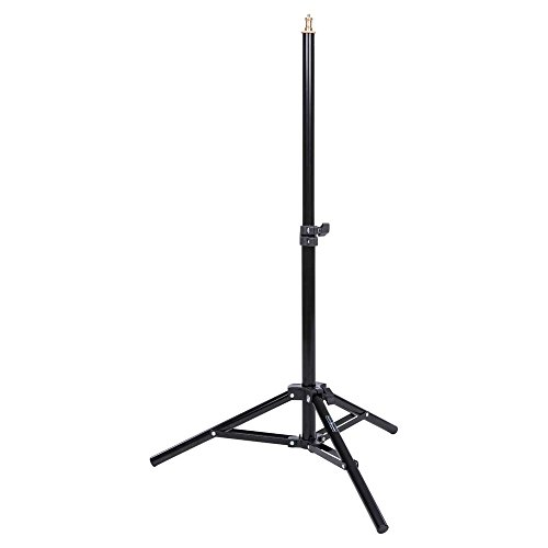 Interfit LS302 Studio Essentials Low-Profile - 3' Compact Background Stand, Black by Interfit