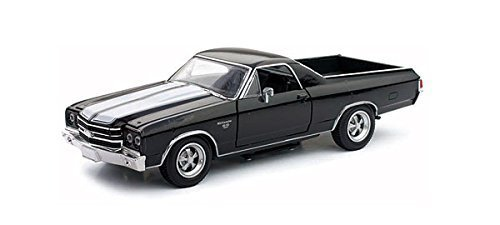 1970 Chevrolet El Camino SS Black 1/25 by New Ray 71883 (Chevrolet El Camino)