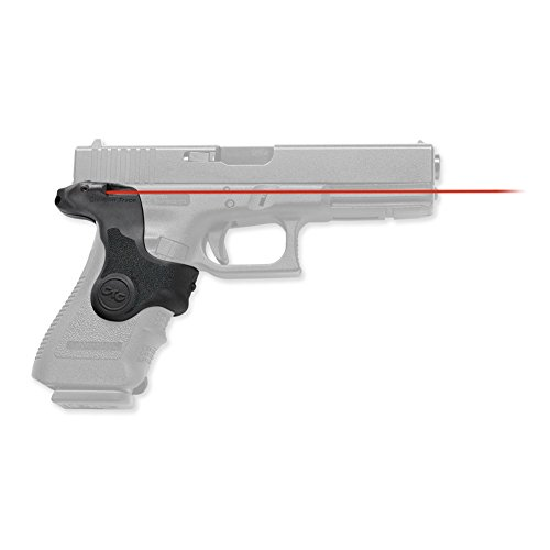 Crimson Rubber Trace (Crimson Trace LG-417 Lasergrips Red Laser Sight Grips for GLOCK Third Generation Full-Size and Compact Pistols)