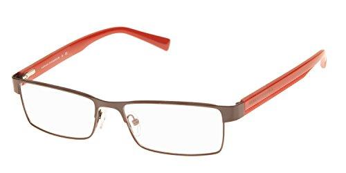 (Armani Exchange AX 1009 Men's Eyeglasses Black / Samba 53 & Cleaning Kit Bundle)