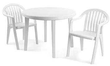 Grosfillex Miami sillón Piscina Lado Exterior/Interior Comodidad sillas