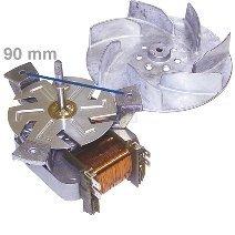 daniplus - Horno de aire caliente Ventilador, ventilador del motor ...