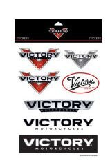 Victory Motorcycle Sticker Set