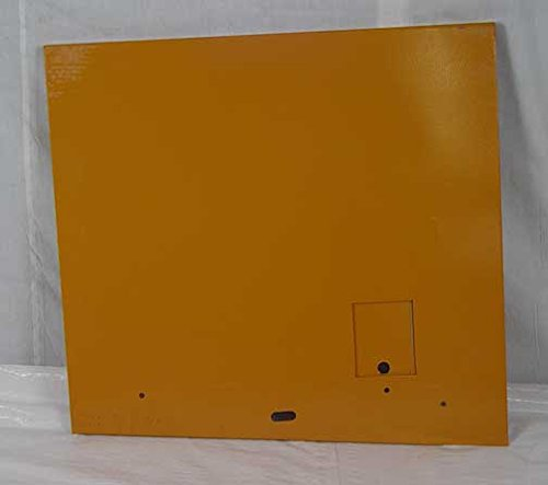 D125779 Engine Side Shield L/H( with door) Fits Case 580D 580E 586