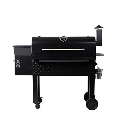 Prime Pellet Grills B07VRS7WND KC King 950 Pellet Grill and Smoker 950 Sq. in. Cooking Capacity Uncategorized