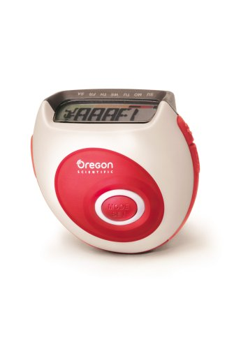 Oregon Scientific PE823 Pedometer with Calorie Counter and 7-day Memory by Oregon Scientific