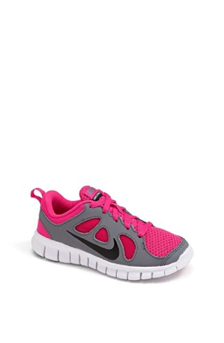 Nike Kids Girls Free Run 5.0 (Little Kid) Pink Foil/Cool Grey/White/Black 11.5 Little Kid M XjfL4dDKm