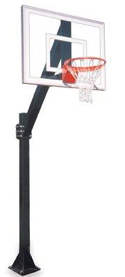 最初チームLegend Jr。ultra-bp steel-glass in ground固定高さバスケットボールsystem44 ;ロイヤルブルー B01HC0DJMQ