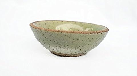Green Ceramic Plates From Thailand-Sushi Plate Dishes Wasabi Bowl by PanyaCeramic - Log Seven Drawer Dresser