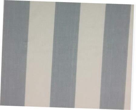 Fabric Suzanne KASLER Linen Sky Blanc Stripe Blue Fabric 56