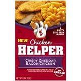Chicken Helper Crispy Cheddar Bacon Chicken 7.1 OZ (Pack of 12)