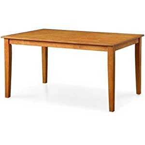 Better homes and gardens bankston brown for Dining room tables on amazon