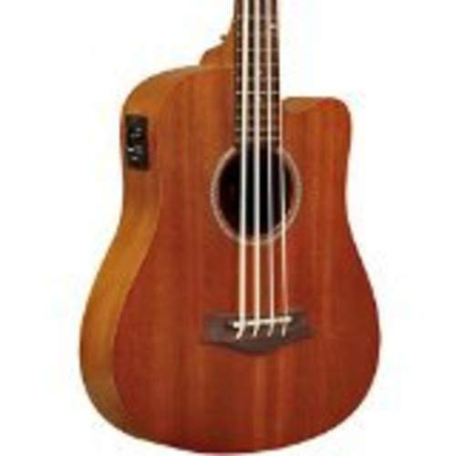 Gold Tone GT-Series M-Bass 4-String Acoustic MicroBass for Electric Bass Guitar - Natural (Electric Guitar Natural Bass)