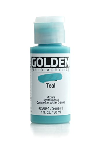 Golden 014000-23691 Fluid Acrylic Paint 1 -