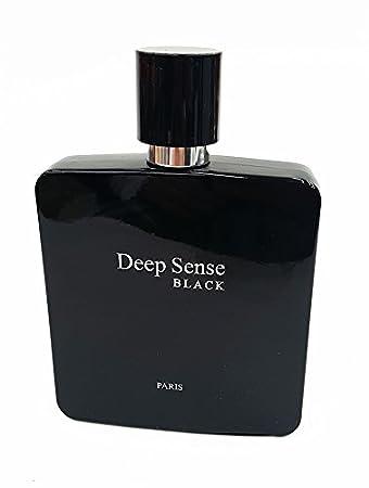 Prime Collection Deep Sense Black Eau de Parfum for men, 3.4 Ounce