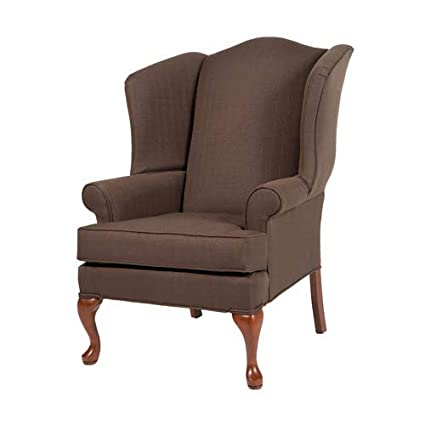 Astonishing Comfort Pointe Erin Brown Wing Back Chair Forskolin Free Trial Chair Design Images Forskolin Free Trialorg