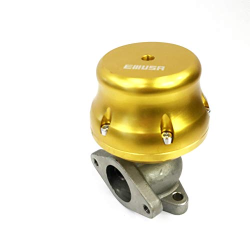 Universal 35/38MM Adj.Wastegate 2-Bolt Scion Acura GOLD