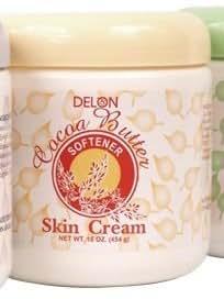 Delon Cocoa Butter Skin Cream Softener 16 oz