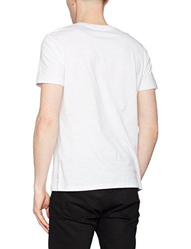 white Otto Camiseta ottotee Fit Hombre Ss Jack reg camp Neck Jconero Crew Blanco Jones amp; Para FOx8xZ7