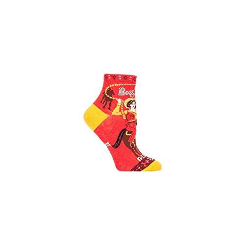 Womens Boss Shoes (Blue Q Mens Boss Lady Ankle Socks OS Red, Women 5-10)