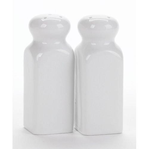 Bia Cordon Bleu 901125 2 Count Square Porcelain Salt & Pepper Shakers,4