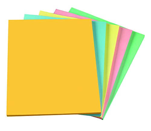 Staples Pastels Colored Copy Paper Assorted 85 X 11 Inch Letter