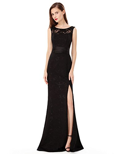 Ever-Pretty - Vestido - para mujer negro