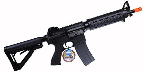 G&G CM16 MOD0 Combat Machine AEG Metal Gears Airsoft Gun (Black)