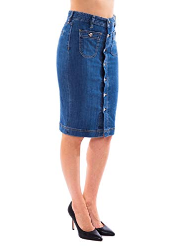 Mujer Azul Algodon Ropa Dsquared2 S75ma0424s30342470 dxwqUBdS