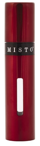 Misto Oil Spray (Misto Oil Sprayer - Stainless Steel with Level Indicator Window (Red))