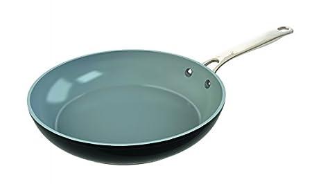 Laguiole - Juego de cazuelas (4 Piezas con Tapa de Cristal | Non de Stick, Aluminio Fundido | Cacerola, Sartenes, Apta para inducción, Color Negro: ...