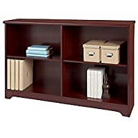 Realspace(R) Magellan Collection 2-Shelf Sofa Bookcase, Classic Cherry