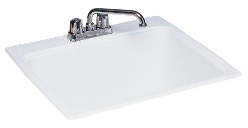 Swan Single Bowl 22inX25in Kitchen Sink