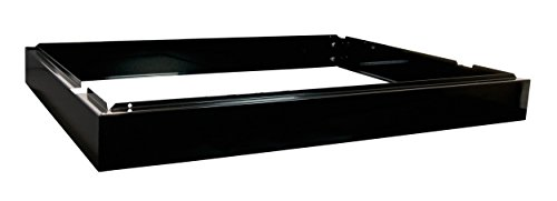 "Studio Designs Flat File Riser 40"" in Black 60743,"