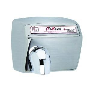 - A-Series World Dryer DXA54-973 Automatic Hand Dryer, Brushed Stainless Steel, 208-230 Volt