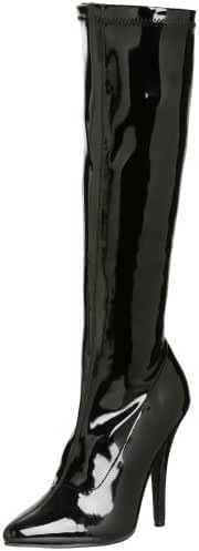 Pleaser Women's Seduce-2000 Knee-High Boot