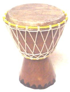 7'' Extra Small Authentic Handmade Djembe Drum - Traditional African Musical Instrument
