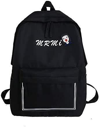 Women's Backpack Large Capacity Print Zipper Backpack Zipper Bags Opening