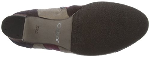 Gabor Gabor Basic - Botas Mujer Multicolor (Brown/Sangria/kies 10)