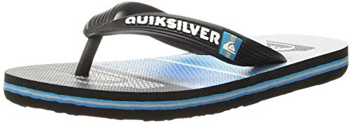Quiksilver Boys' Molokai Highline Slab Youth Sandal, Black Blue, 11(28) M US Little Kid ()