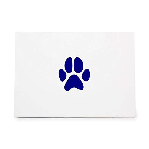 Paw Animal Print Dog Foot Style 15373, Rubber Stamp Shape great for Scrapbooking, Crafts, Card Making, Ink Stamping (Dog Paw Print Stamp)