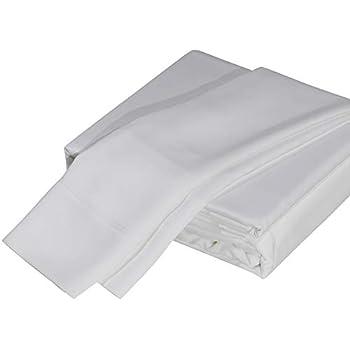 DTY Bedding Luxuriously Soft Bamboo 4-Piece Sheet Set, Oeko-TEX Certified - King, White