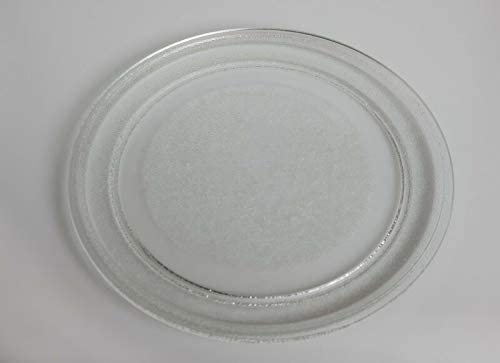 Plato giratorio de cristal, diámetro de 24,5 cm, apto para ...