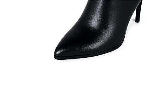 Nine Negro Mujer High Boots Botas Sevenknee qrxqzCT